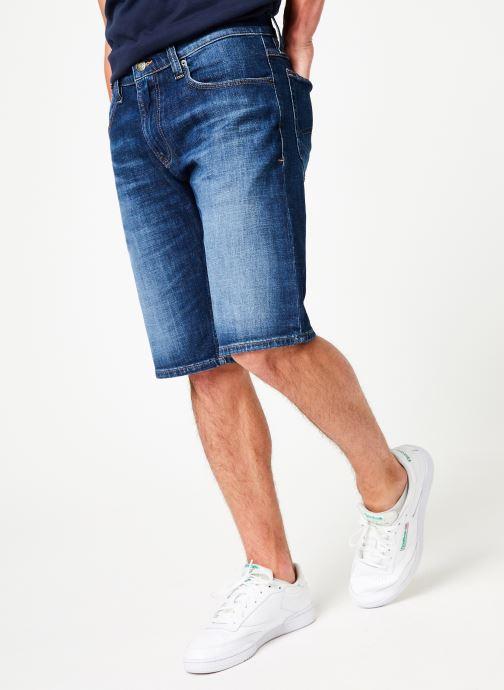 Vêtements Tommy Jeans RONNIE SHORT ELKDK Bleu vue détail/paire