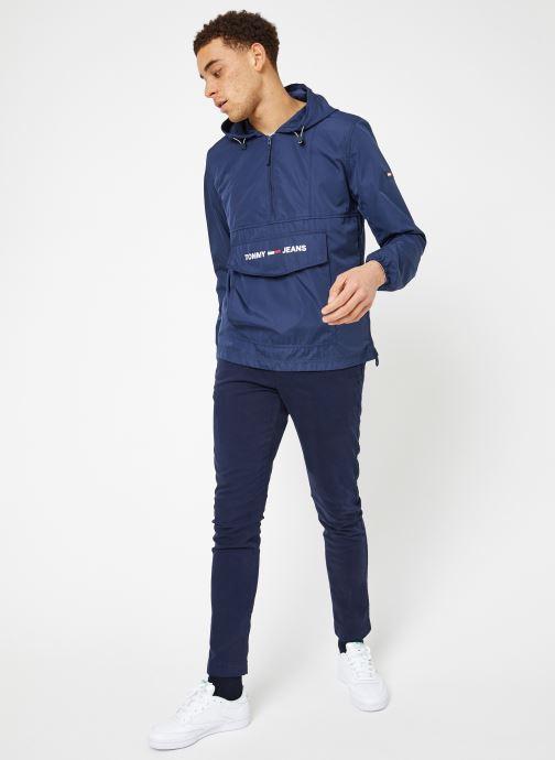 Manteaux Iris Et Popover VêtementsVestes Jeans Nylon Tjm Shell Tommy Solid Black 3ARj54L