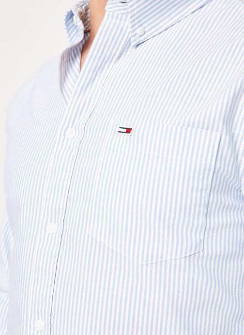 Vêtements Tommy Jeans TJM CLASSICS OXFORD ITHACA SHIRT Bleu vue face
