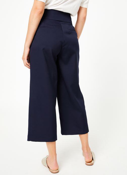 Vêtements Louche MEREDITH-SOLID Bleu vue portées chaussures
