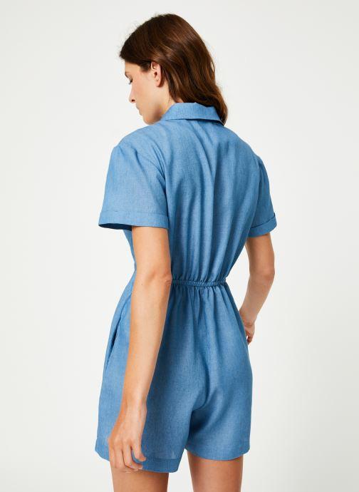 Vêtements Louche LOEIZA-CHAMBRAY Bleu vue portées chaussures