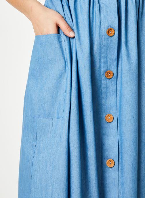 Tøj Louche ZELDA-CHAMBRAY Blå se forfra