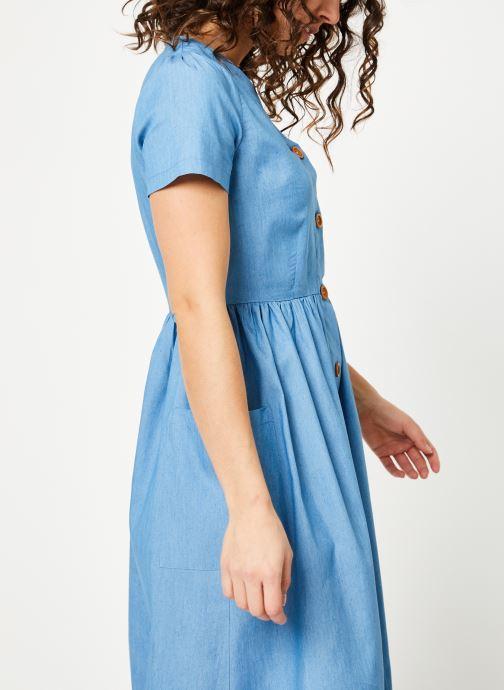 Tøj Louche ZELDA-CHAMBRAY Blå Se fra højre
