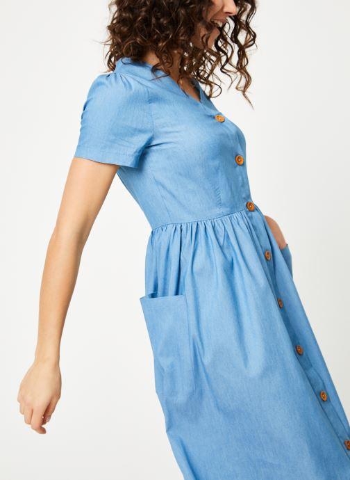 Tøj Louche ZELDA-CHAMBRAY Blå detaljeret billede af skoene