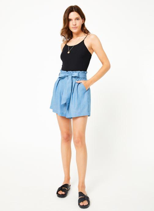 Vêtements Louche ALDA Bleu vue bas / vue portée sac