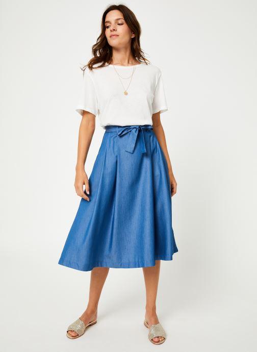Vêtements Louche MATILDA-CHAMBRAY Bleu vue bas / vue portée sac