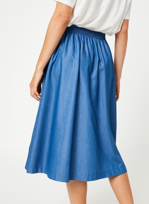 Vêtements Louche MATILDA-CHAMBRAY Bleu vue portées chaussures