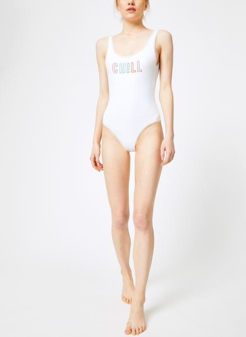 Vêtements Banana Moon BELAIR CHILL Blanc vue bas / vue portée sac