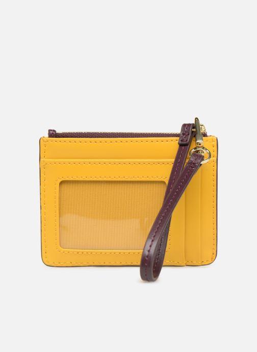 Wallets & cases Lacoste Porte cartes Chantaco Burgundy front view