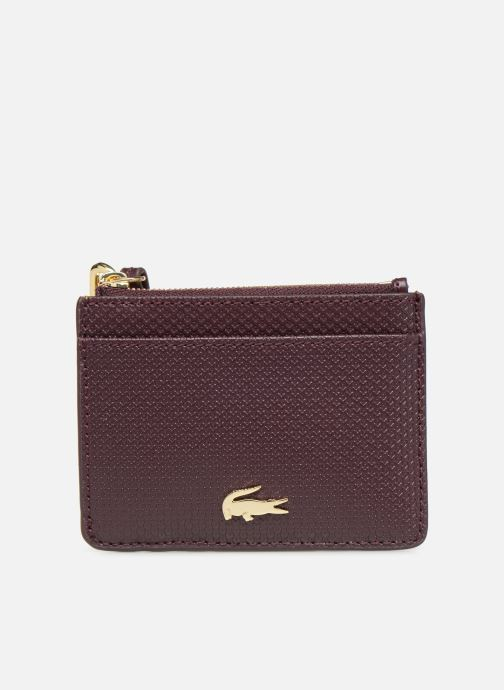 Wallets & cases Lacoste Porte cartes Chantaco Burgundy detailed view/ Pair view