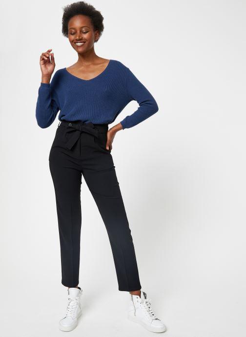 Vêtements School Rag PAISLEY Noir vue bas / vue portée sac