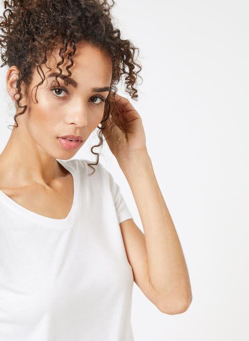Vêtements School Rag TRELYA Blanc vue face