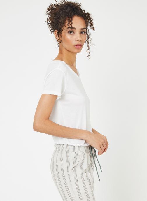 Vêtements School Rag TRELYA Blanc vue droite