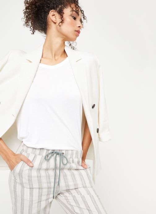 Vêtements School Rag TRELYA Blanc vue détail/paire