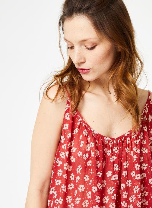 Vêtements School Rag TAMBIE FLOWER Rouge vue face