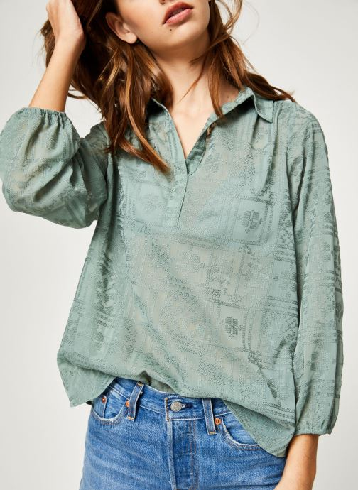 Vêtements School Rag CASARTE Vert vue détail/paire