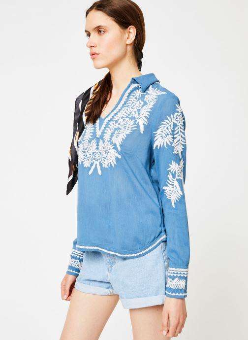 Vêtements School Rag CHERASANE Bleu vue droite