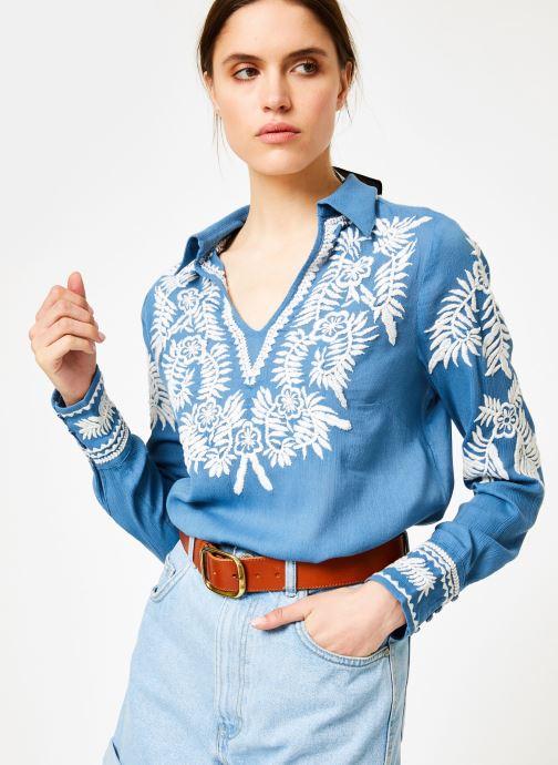 Vêtements School Rag CHERASANE Bleu vue détail/paire