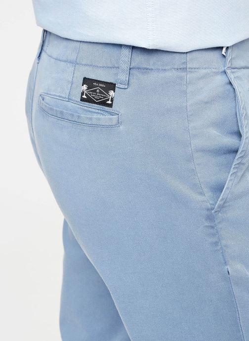 Grenouille Chez Washed Chino Vêtements Cuisse Pants De 370115 bleu fwUqnn50I4