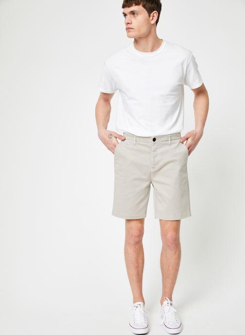 Vêtements Cuisse de Grenouille SHORT - CLASSIC SHORT PANTS Beige vue bas / vue portée sac