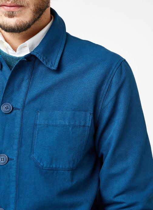 Vêtements Cuisse de Grenouille JACKET - THICK TWILL Bleu vue face