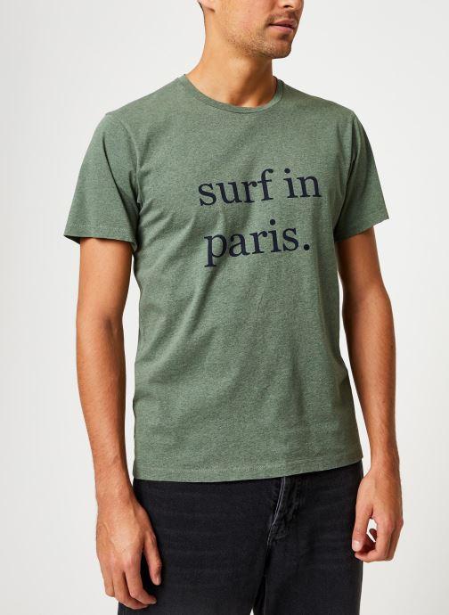 Kleding Cuisse de Grenouille TEE-SHIRT - SURF IN PARIS Groen rechts