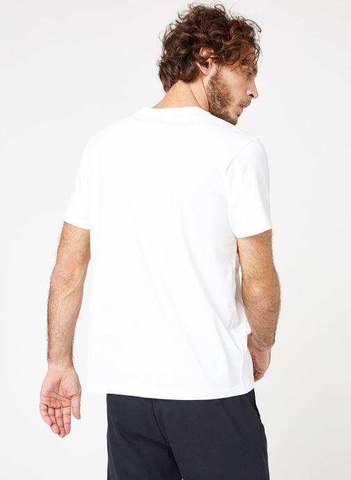 Vêtements Cuisse de Grenouille TEE-SHIRT - PRINT Blanc vue portées chaussures