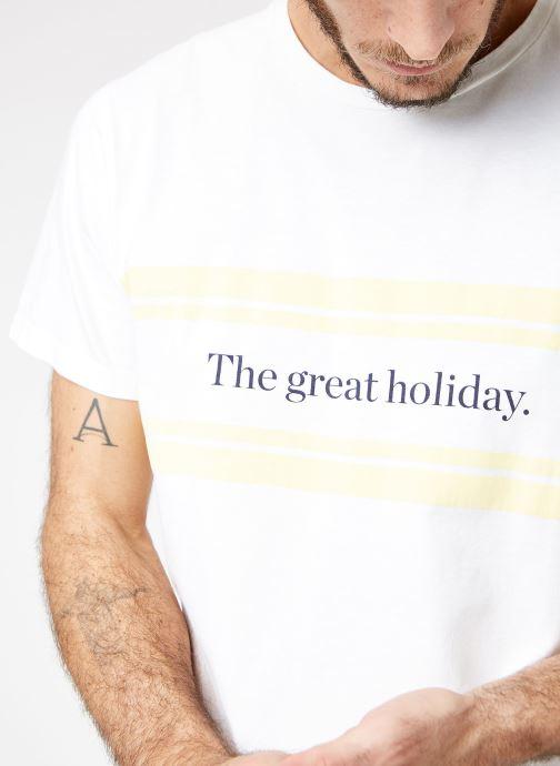 Vêtements Cuisse de Grenouille TEE-SHIRT - PRINT Blanc vue face