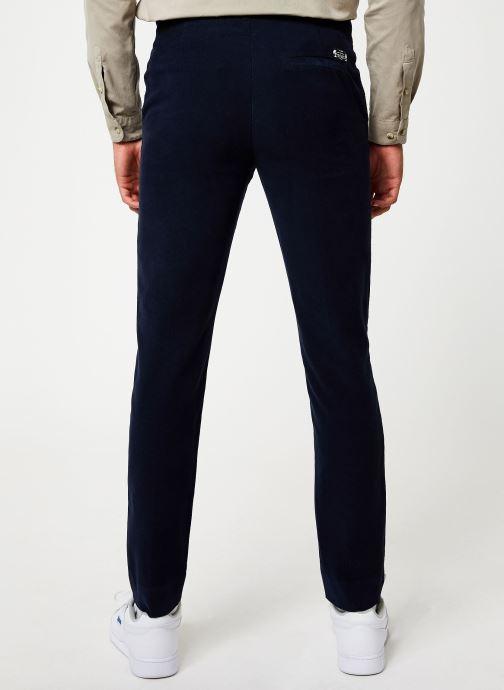 Vêtements Cuisse de Grenouille PANTS - CHIC PANTS Bleu vue portées chaussures