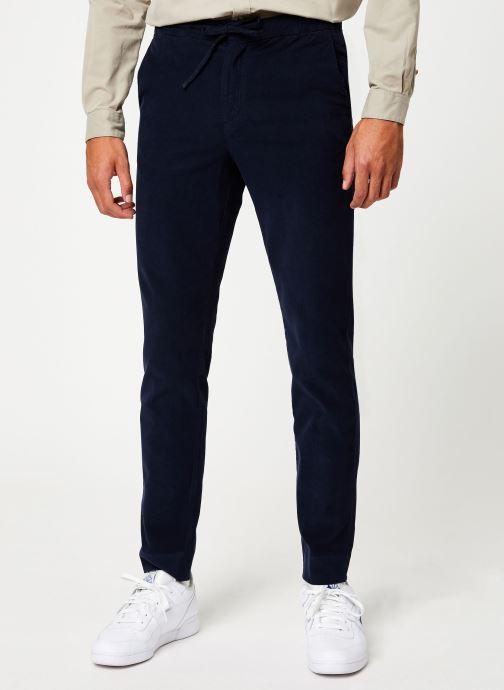Vêtements Cuisse de Grenouille PANTS - CHIC PANTS Bleu vue détail/paire