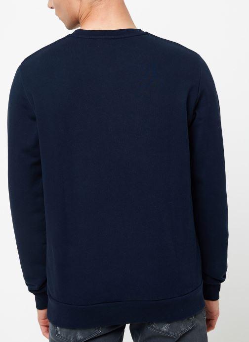 Vêtements Cuisse de Grenouille SWEATSHIRT - SURF IN PARIS Bleu vue portées chaussures