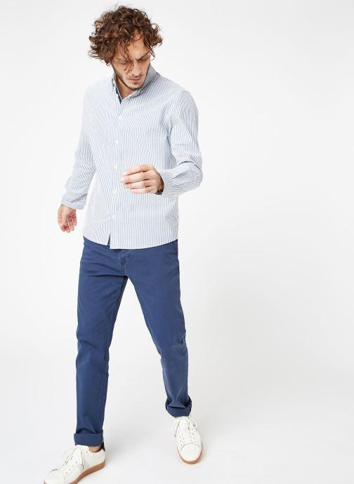 Tøj Cuisse de Grenouille SHIRT - BUTTON DOWN CLASSIC Blå se forneden