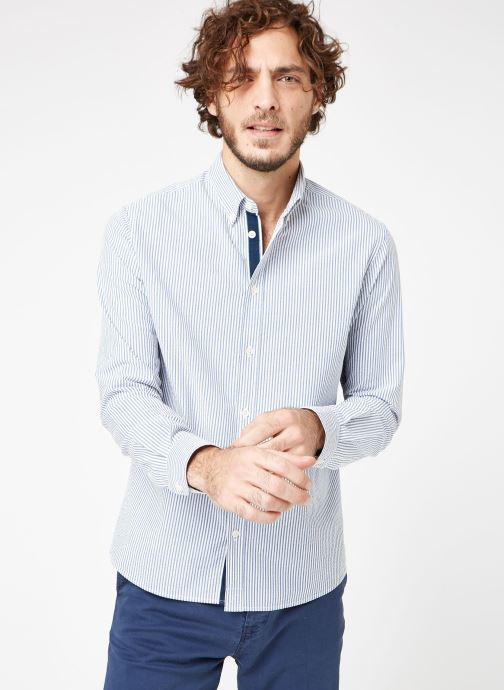 Tøj Cuisse de Grenouille SHIRT - BUTTON DOWN CLASSIC Blå Se fra højre