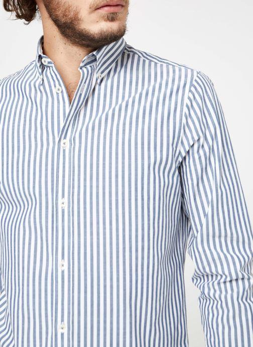 Vêtements Cuisse de Grenouille SHIRT - BUTTON DOWN CLASSIC Bleu vue face