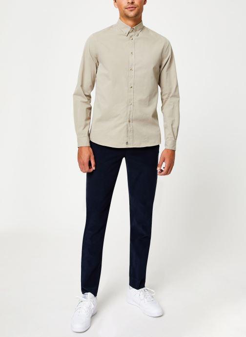 Tøj Cuisse de Grenouille SHIRT - BUTTON DOWN CLASSIC Beige se forneden