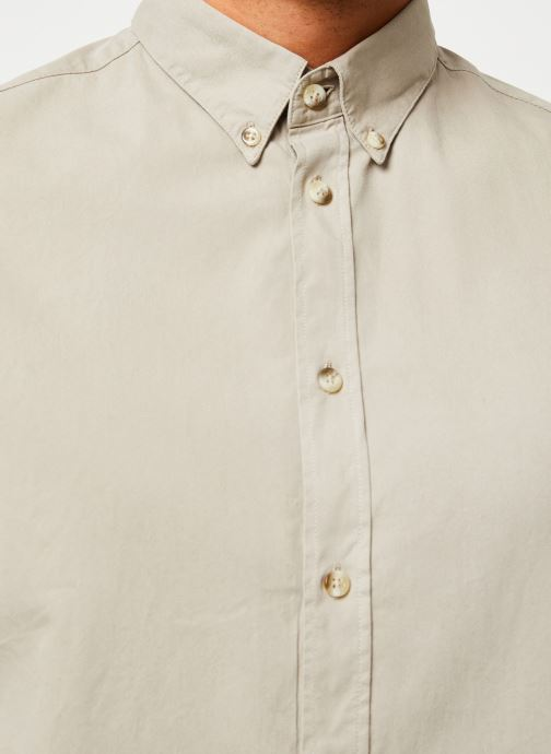 Vêtements Cuisse de Grenouille SHIRT - BUTTON DOWN CLASSIC Beige vue face