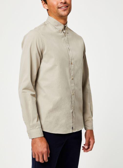 Tøj Cuisse de Grenouille SHIRT - BUTTON DOWN CLASSIC Beige Se fra højre