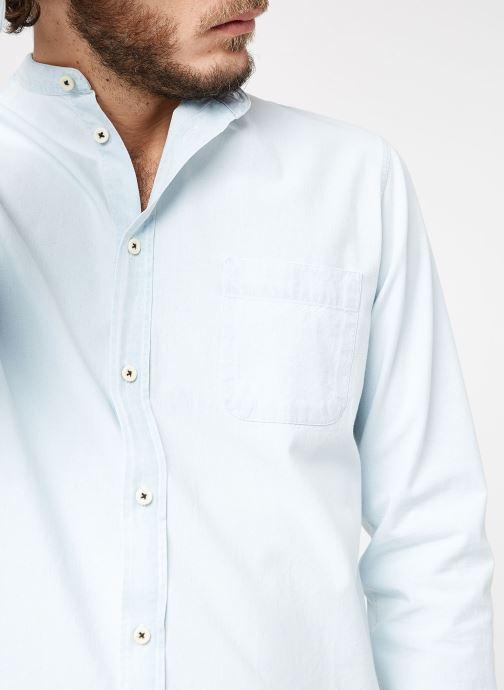 Vêtements Cuisse de Grenouille SHIRT - MAO Bleu vue face