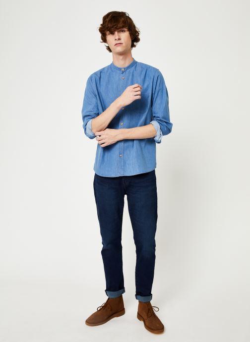 Vêtements Cuisse de Grenouille SHIRT - MAO Bleu vue bas / vue portée sac