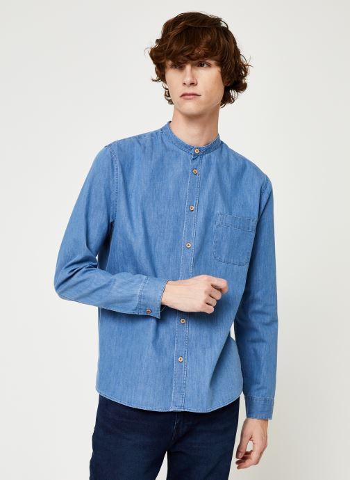 Vêtements Cuisse de Grenouille SHIRT - MAO Bleu vue détail/paire