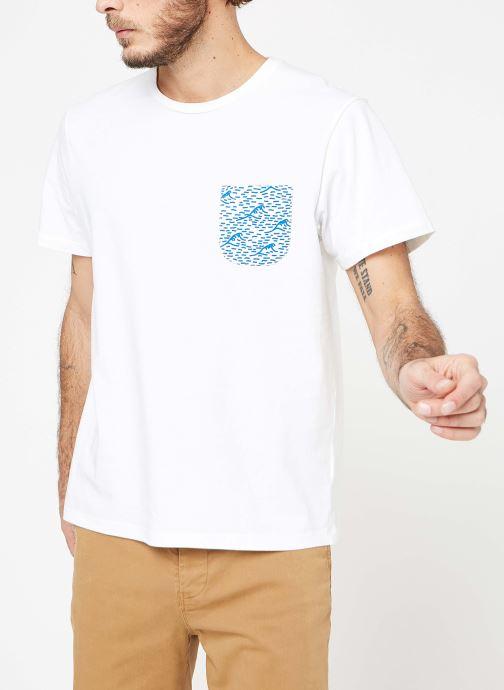 Vêtements Cuisse de Grenouille TEE-SHIRT - VAGUE POCKET Blanc vue droite