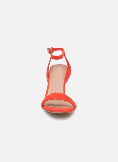 Sandales et nu-pieds Steve Madden Faith Sandals Rouge vue portées chaussures