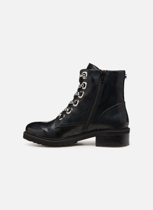 Bottines et boots Steve Madden Lindia Ankleboot Noir vue face