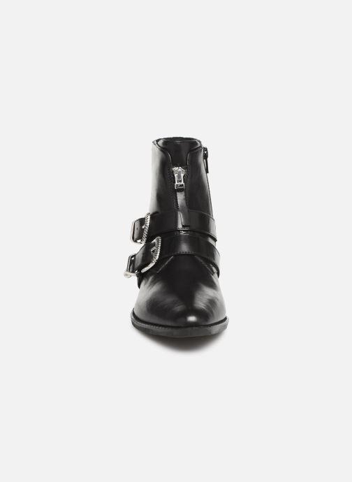 Bottines et boots Steve Madden Leia Ankleboot Noir vue portées chaussures