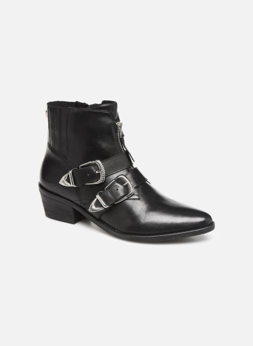 Boots en enkellaarsjes Steve Madden Leia Ankleboot Zwart detail