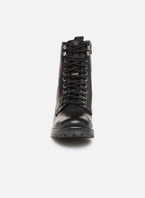Bottines et boots Steve Madden Geneva Ankleboot Noir vue portées chaussures