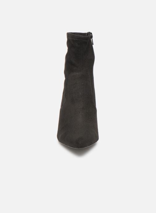 Bottines et boots Steve Madden Lava Ankleboot Noir vue portées chaussures