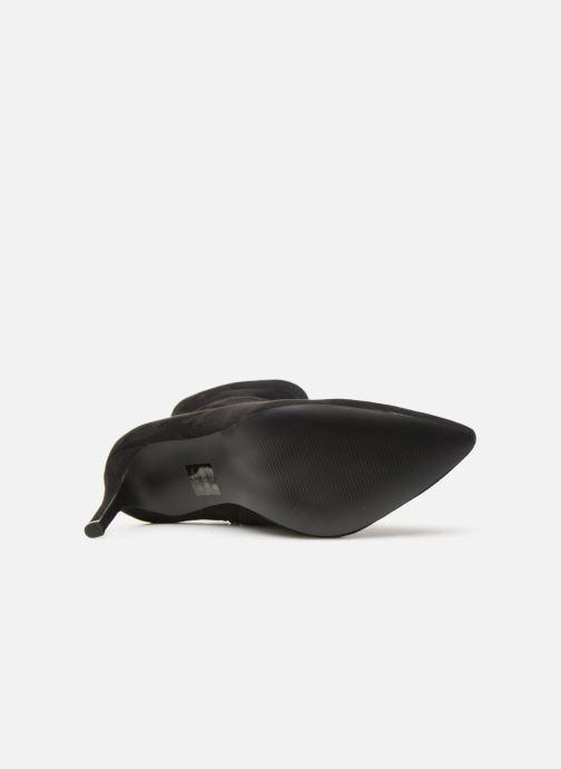 Bottines et boots Steve Madden Lava Ankleboot Noir vue haut