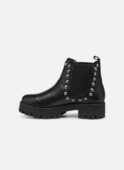 Bottines et boots Steve Madden Bossy Ankleboot Noir vue face