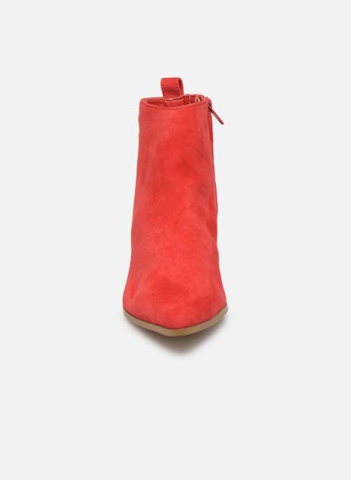 Bottines et boots Steve Madden Clover Ankleboot Rouge vue portées chaussures